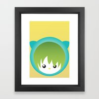miew Framed Art Print
