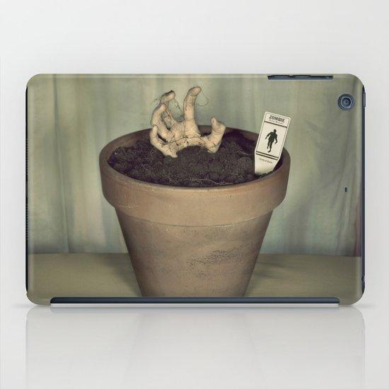 Zombie Plant iPad Case
