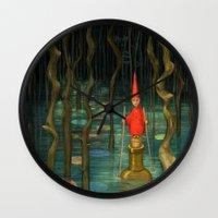 Small Journeys Wall Clock