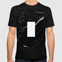 Black Marble - Alphabet I Mens Fitted Tee Tri-Black SMALL