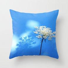 Queen Ann's Lace Shadow Throw Pillow