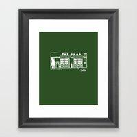 The Shop Framed Art Print