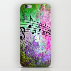 Abstract MUSIC 2 iPhone & iPod Skin