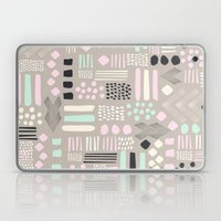 Pastel Tribal Patchwork Laptop & iPad Skin