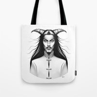 Devil Man Tote Bag