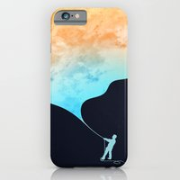iPhone Cases featuring Day fills up the sky by Budi Kwan