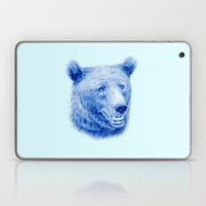 Brown bear is blue Laptop & iPad Skin
