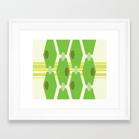 Modish Framed Art Print