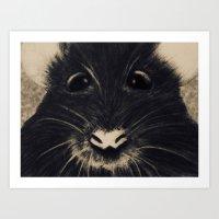 Mice me up Art Print