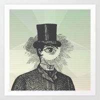 Eyeliner Art Print