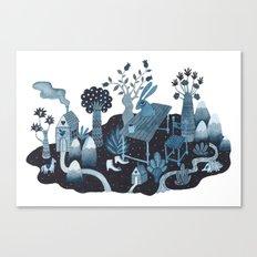 Cognitive Map Canvas Print