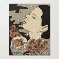 Midwasted Canvas Print
