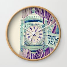 Telling Time Wall Clock