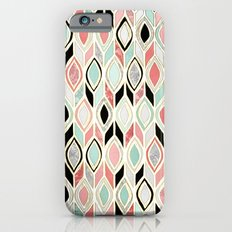 Patchwork Pattern In Cor… iPhone 6 Slim Case