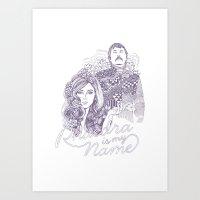 Phaedra is my Name Art Print