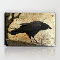 Crow Caws Laptop & iPad Skin