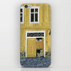 Yellow building iPhone & iPod Skin