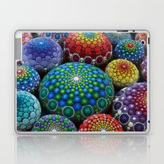 Jewel Drop Mandala Stone Collection #1 Laptop & iPad Skin