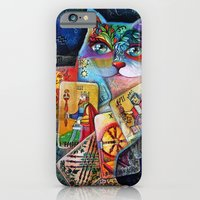 Tarot cat iPhone 6 Slim Case
