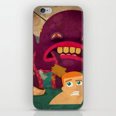 giant octopus iPhone & iPod Skin