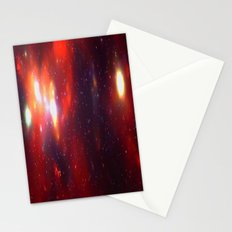 Falling Stars Stationery Cards