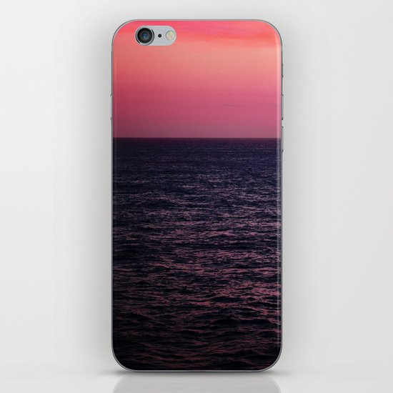 Pretty Pink Sunset iPhone & iPod Skin