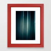 Rain #01 Framed Art Print
