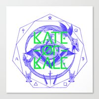 Kate Of Kale's All Seein… Canvas Print