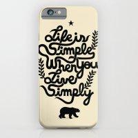 Life Is Simple iPhone 6 Slim Case