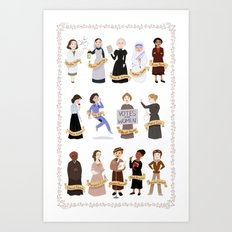 Women in History Art Print