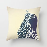 Bonebreathing U Throw Pillow