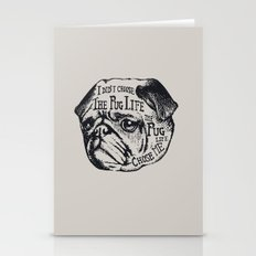 Pug Life Stationery Cards