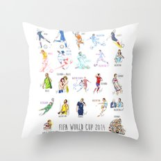 FIFA World Cup 2014 Moments! Throw Pillow