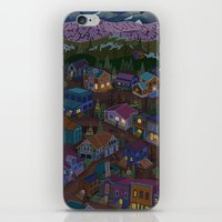 A Town On The Edge Of Ad… iPhone & iPod Skin