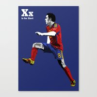 X Is For Xavi Canvas Print