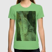 Howling Wolf Womens Fitted Tee Grass SMALL