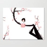 Gentle Blossom Canvas Print