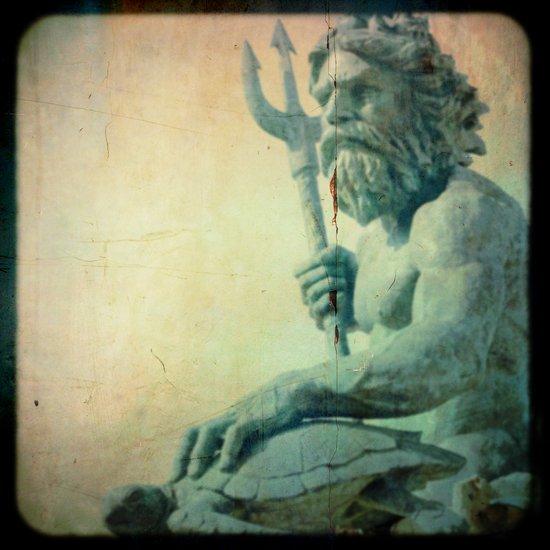 Memoirs of Neptune Art Print