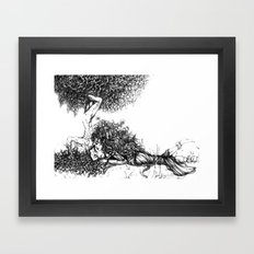 Natural Love Framed Art Print