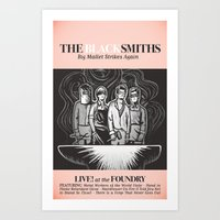The Blacksmiths ANALOG zine Art Print