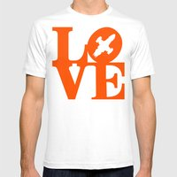 KEEPS HER IN THE AIR Mens Fitted Tee White SMALL