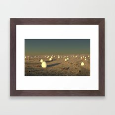 Eggs Framed Art Print