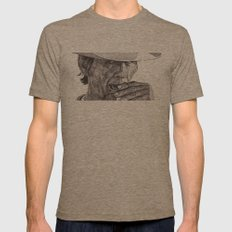 Charles Mens Fitted Tee Tri-Coffee SMALL
