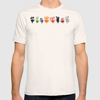 Teacups Mens Fitted Tee Natural SMALL