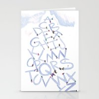 Skiphabet Stationery Cards