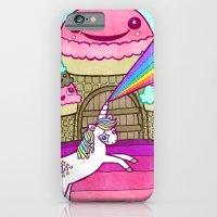 Unicorn and Ice Cream Kingdom iPhone 6 Slim Case