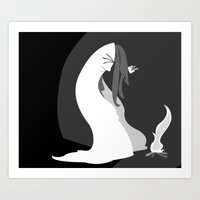 The Cold Art Print