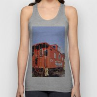 Lil Red Caboose -Wellsbo… Unisex Tank Top