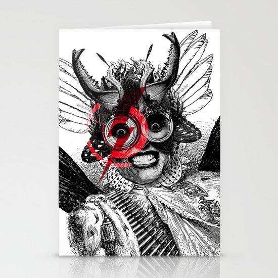 The Baroness Stationery Card