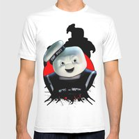 Stay Puft: Monster Madne… Mens Fitted Tee White SMALL